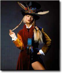 Rifat Ozbek - Model Kate