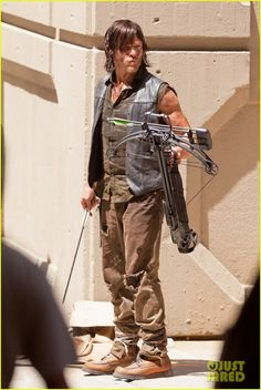 The Walking Dead's Norman Reedus & Melissa McBride Get to Work on Season 5