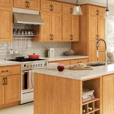 Quarter Sawn White Oak Rustic   Craftsman kitchen, Oak ...