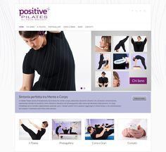 new #website for #PositivePilates