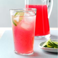 Cranberry Limeade Recipe -When cranberry and lime juice get together, the result is thirst-quenching. Add ice and you've got a party in a glass. —Michael Passow, Poughkeepsie, New York Best Non Alcoholic Drinks, Party Drinks Alcohol, Liquor Drinks, Ginger Cocktails, Cocktail Recipes, Drink Recipes, Cranberry Recipes, Cranberry Juice, Cranberry Cookies