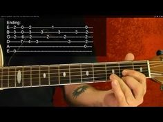 ▶ How to Play the Intro to STAIRWAY TO HEAVEN ( in HD ) with PRINTABLE TABS - YouTube