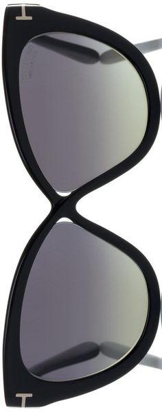Tom Ford Eyewear Arabella 59MM Polarized Cat's-Eye Sunglasses