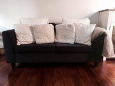 Polished Penitus Home Hacks: Over-sized sofa cushions