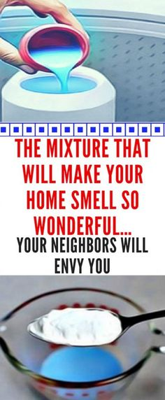 Her House Always Smells Wonderful And Fresh And People Can't Understand Why. Her House Always Smells Wonderful And Fresh And People Can't Understand Why. Here's Her Secret! Household Cleaning Tips, House Cleaning Tips, Spring Cleaning, Cleaning Hacks, Household Cleaners, Cleaning Items, Cleaning Recipes, Car Cleaning, Cleaning Routines