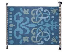 Rechteckiger Teppich aus Wolle ARABESCO VERDE by GAN By Gandia Blasco Design Sandra Figuerola