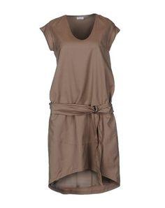 Brunello cucinelli Для женщин - Платья - Платье до колена Brunello cucinelli на YOOX 22504 руб