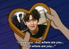 Kyungsoo, Chanyeol, Cartoon Edits, Teen Celebrities, I Love You, My Love, Exo Memes, Yixing, Bacon