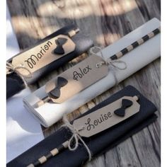 Self-adhesive wooden bow tie from the Best Picture For decoration table chic For Your Taste You 30th Birthday, Birthday Party Themes, Mr Mrs, Wooden Bow Tie, Deco Table, Moustache, Thing 1 Thing 2, James Bond, Slate