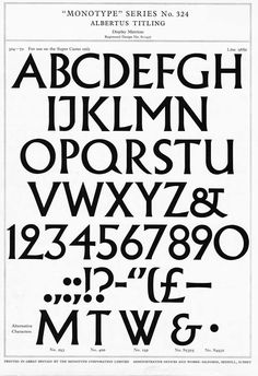 Typeface recognition needed – and answered Albertus!
