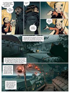 Enrique Fernandez Graphic Novel Page