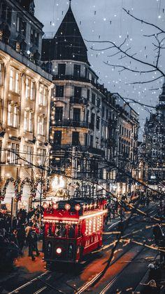 Wallpaper Natal, Xmas Wallpaper, Christmas Phone Wallpaper, Christmas Aesthetic Wallpaper, Winter Wallpaper, Wallpaper Backgrounds, Christmas Feeling, Cozy Christmas, Christmas Scenes