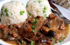 Main Meals, Naan, Gnocchi, Pork, Food And Drink, Menu, Meat, Top Recipes, German Cuisine