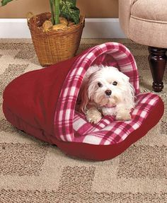 PLAID SLIPPER PET BED dog cat puppy toy small middle house cuddle warm red Source by janetkleynhans Diy Dog Bed, Dog Furniture, Toy Puppies, Pet Beds, Dog Accessories, Dog Supplies, Dog Toys, Small Dogs, Large Dogs