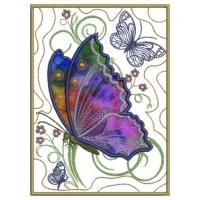 Butterflies In My Garden ~ Allstitch