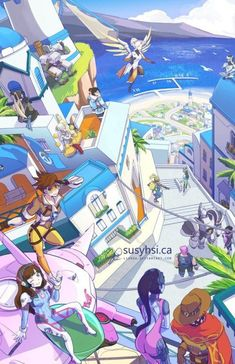 Vacation in Illinois Overwatch Overwatch Comic, Overwatch Memes, Overwatch Fan Art, Overwatch Genji, Future Earth, Overwatch Wallpapers, Videogames, V Games, Fanart
