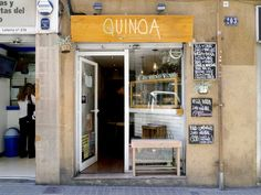 Quinoa Bar in Gracia - 20 Free Things To Do in Barcelona