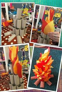 Need a VBS theme? Transform your VBS classroom into an Afr fuego Need a VBS theme? Transform your VBS classroom into an Afr Vbs Themes, Party Themes, Ideas Party, Diy And Crafts, Crafts For Kids, Paper Crafts, Christmas Crafts, Christmas Decorations, Xmas