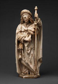 The Cloisters — Saint James the Greater by Gil de Siloe via The...