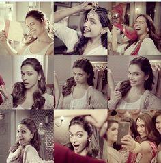 Deepika Padukone's Special K commercial 'Selfie' she just looks soo cute Indian Celebrities, Bollywood Celebrities, Bollywood Actress, Prettiest Actresses, Beautiful Actresses, Indian Actresses, Actors & Actresses, Deepika Padukone Style, Best Cell Phone