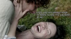 Love this shot because Claire looks so happy!