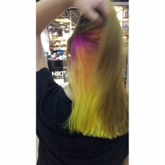 Today another fun color was done. A light… New Hair, Hair Styles, Colors, Amazing, Fun, Beauty, Hair Plait Styles, Hairdos, Colour