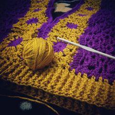 """6 Me gusta, 1 comentarios - La que teje (@lady_tru_tru) en Instagram: """"Blusa crochet. #Hilaza #Grannies #LoveCrochet #LoveTruTru"""""""