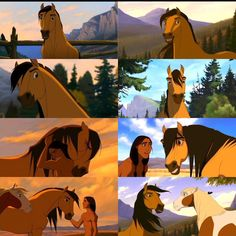 Remember that awkward time, where you had a crush on an animated horse? Horse Drawings, Cartoon Drawings, Animal Drawings, Cartoon Art, Cute Drawings, Spirit The Horse, Spirit And Rain, Disney Pixar Movies, Disney And Dreamworks