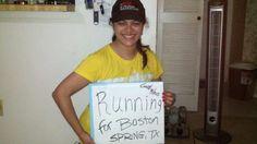 Running for Boston!!