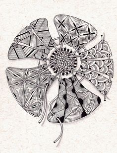 Zentangle Pattern Gallery | Zentangle patterns - a gallery on Flickr