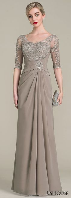 Most Popular 2017 New Mother of the Bride Dress Collection. More Styles for Your… Most Popular 2017 New Mother of the Bride Dress Collection. More Styles for Your Choice >> Mob Dresses, Trendy Dresses, Nice Dresses, Bridesmaid Dresses, Bridal Dresses, Mother Of The Bride Dresses Long, Mothers Dresses, Elegantes Outfit, Bride Gowns