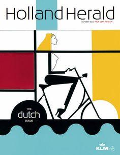 Illustration by Studio Piet Paris for KLM's in-flight magazine 'Holland Herald'.