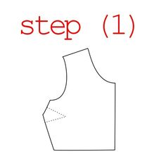 simple pattern grading for tops.