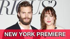 Fifty Shades of Grey Fan Premiere - Jamie Dornan, Dakota Johnson, Sam Ta...