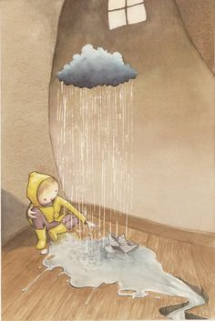 ♪ Imagination is funny... makes a cloudy day sunny ♪