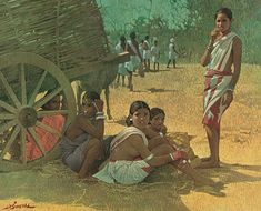 J. P. Singhal - At rest in the market @ J. P. Singhal: India's Realist Master Painter | StoryLTD