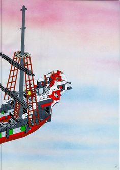Thousands of complete step-by-step printable older LEGO® instructions for free. Here you can find step by step instructions for most LEGO® sets. Black Mode, Lego Pirate Ship, Lego Group, Lego Instructions, Lego Sets, Legos, Lego Games, Lego, Logos