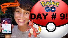Pokemon GO Game Day # 9: CHARMELEON! Jenna Em Channel PokemonGO