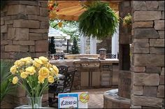 outdoor kitchens available @ The Pool Place.