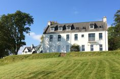 Kinloch Lodge (the building we stayed in) in Sleat, Isle of Skye