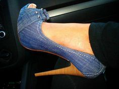 Everyone needs denim shoes