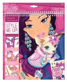 Style Me Up Puppy Love Sketchbook by Style Me Up!. $11.99. Encourages stylish creativity. Do-it-yourself fashion projects. For ages 8 and up. From the Manufacturer                The Puppy Love sketchbook lets you create your own stylish fashions by drawing, sketching, personalizing and embellishing your own designs. The kit includes 28 sketch pages, 4 stencil sheets, 4 illustrated inspiration sheets, 100 different stickers, sample pattern pages and instructio...