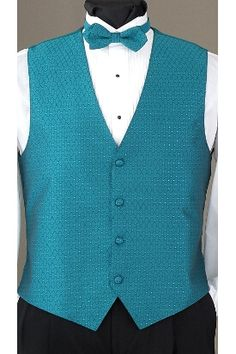Oasis Legacy vest and matching bow tie by Tuxedo Junction
