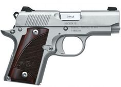 This Kimber Micro 9 Stainless is a great compact pistol for carry and conceal. It offers all of the American manufacturing, accuracy and reliability that you have come to love from Kimber. Best Concealed Carry, Conceal Carry, Kimber Micro, 380 Acp, 9mm Pistol, American Manufacturing, Home Protection, Shooting Guns, Guns And Ammo