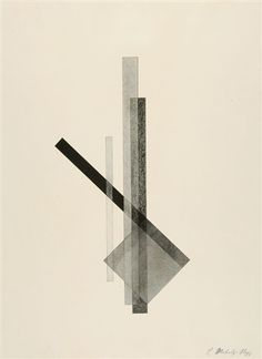 Konstruktion 2, pl. 2 (from Konstruktionen) by László Moholy-Nagy