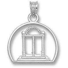 University of Georgia Bulldog Pendant - Sterling Silver Logo Art http://www.amazon.com/dp/B001696HAG/ref=cm_sw_r_pi_dp_s2G9vb0YD724Z