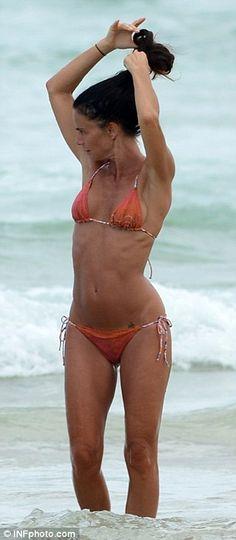 Bikini strip video
