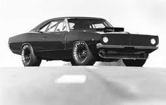 The 1968 Dodge Charger , my dream car.