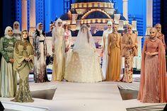 Fashion show of Chechnya (at Grozny).