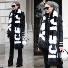 Get this look: http://lb.nu/look/7934124  More looks by Livia Auer: http://lb.nu/modefauconbylivia  Items in this look:  River Island Faux Fur Scarf, First And I Bootcut Jeans, Le Specs Half Moon Magic Sunglasses   #chic #elegant #street #ootd #allblack #blackandwhite #fakefur #fauxfur #bootcut